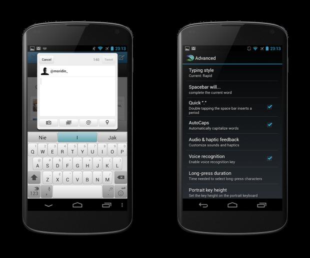 SwiftKey3 i Nexus 4 - 03