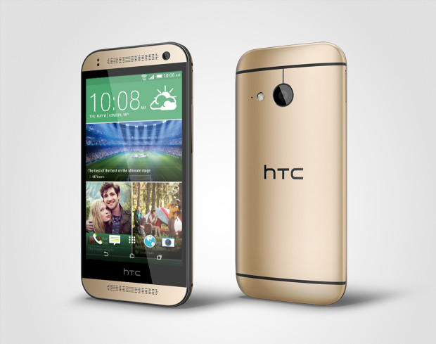 HTC One mini 2_PerLeft_Gold