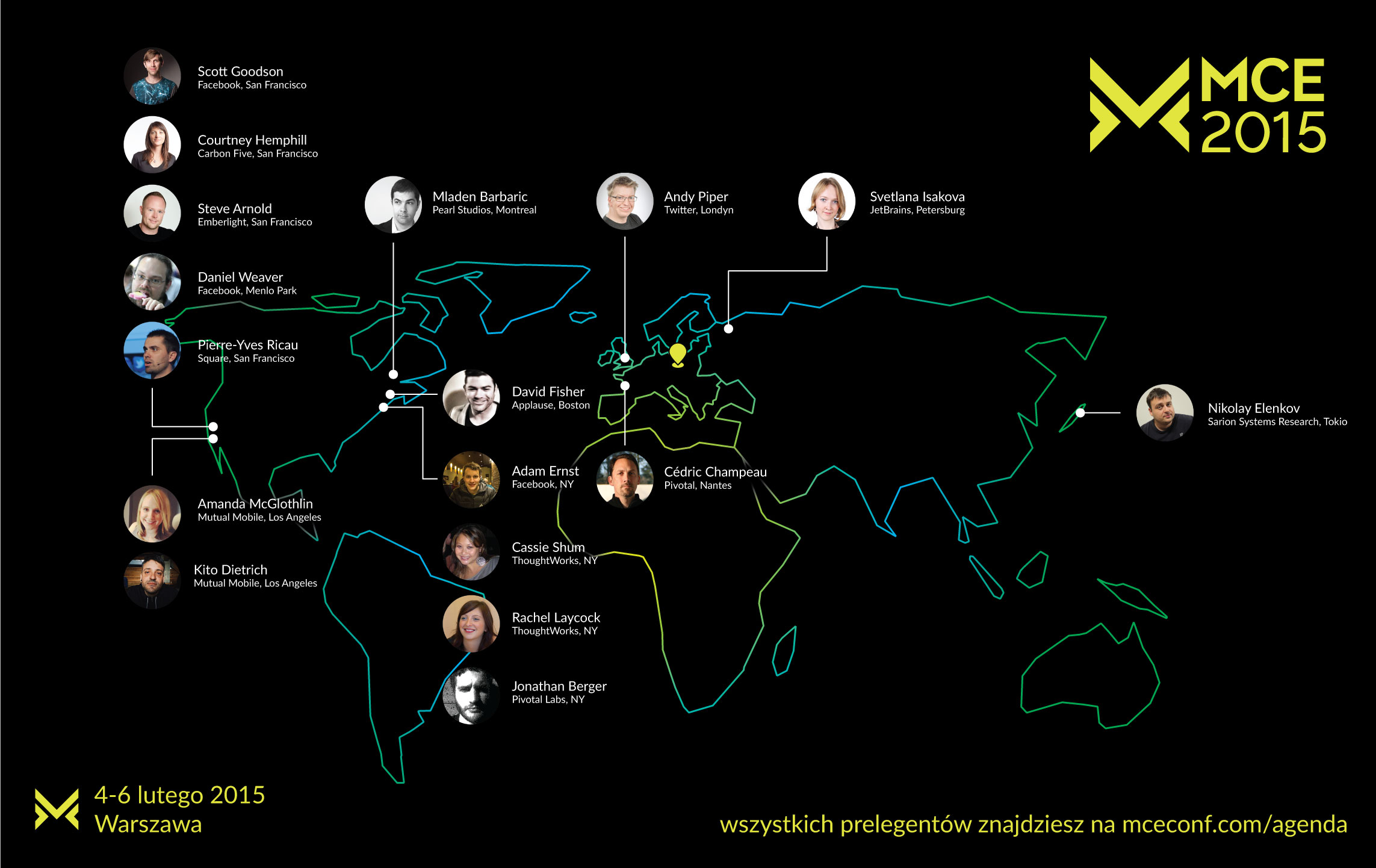 MCE 2015 już w lutym w Warszawie!